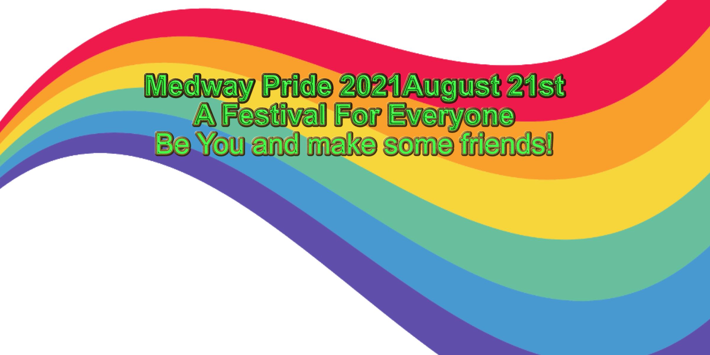Medway Pride CIC Company number 13428352